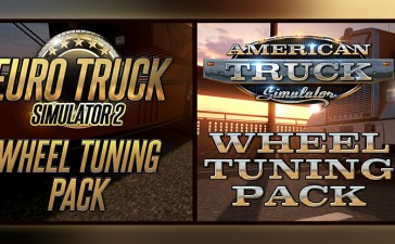 ATS, ETS2 - Wheel Tuning Pack