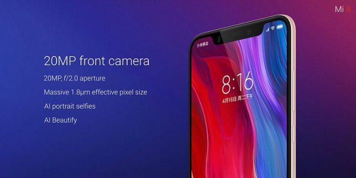 Xiaomi Mi 8 Camera