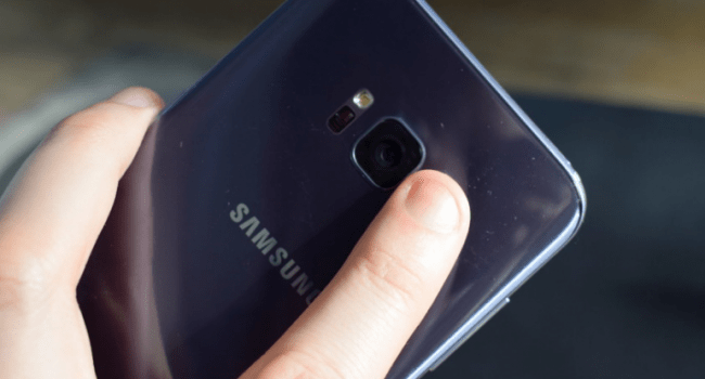 galaxy s8 fingerprint scanner
