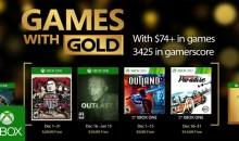 الألعاب المجانية لمشتركي إكس بوكس جولد لشهر ديسمبر