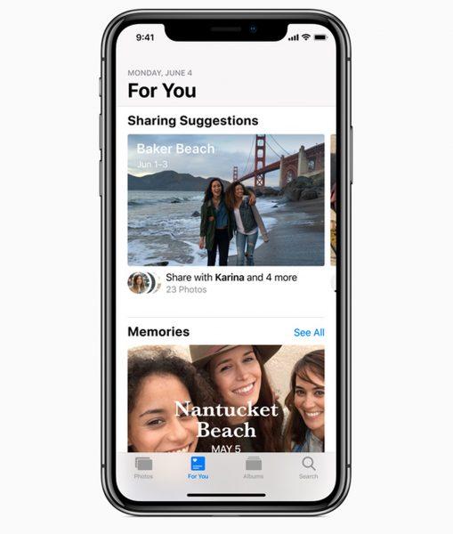 iOS apple photos app
