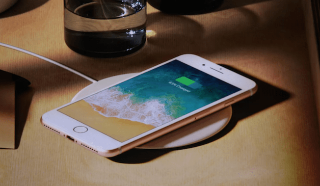 iPhone 8 Plus wireless charger