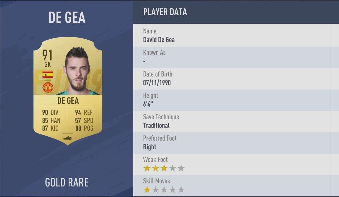 FIFA 19 English Premier League