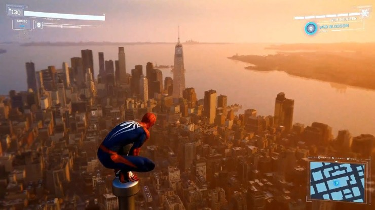 Spider-Man PS4 Empire State