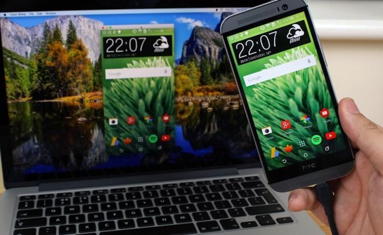 كيفية عرض شاشة هاتف أندرويد على ويندوز أو ماك بدون روت