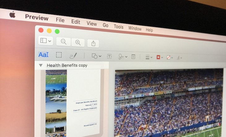 كيفية تحميل ملفات PDF على سفاري في macOS