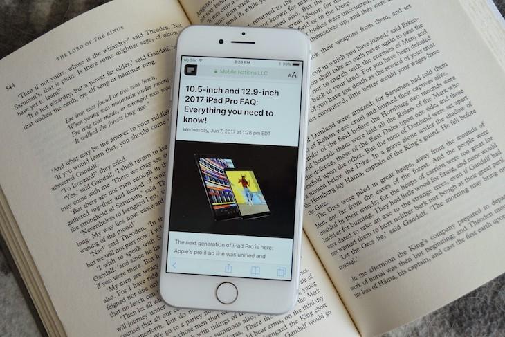 كيفية جعل وضع القراءة يُفعّل تلقائياً على متصفح سفاري