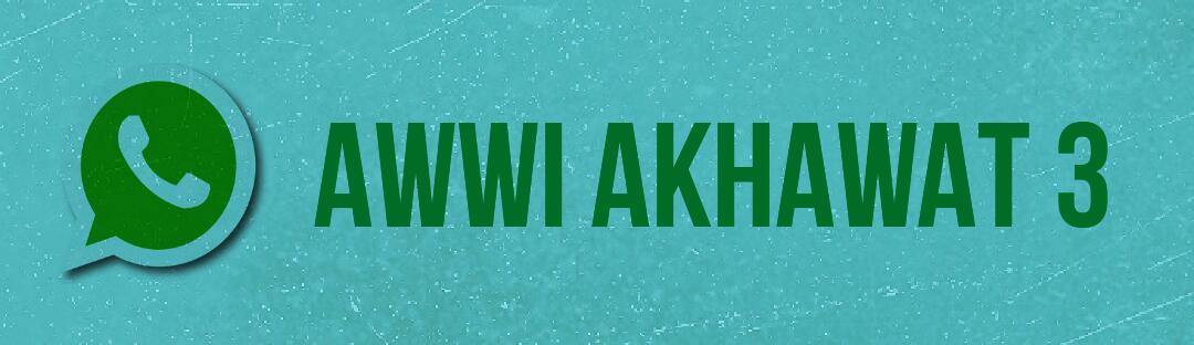 KONTAK ADMIN AKHWAT 3