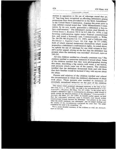 Common vs. Amirault - 424 Mass. 618 - Page624