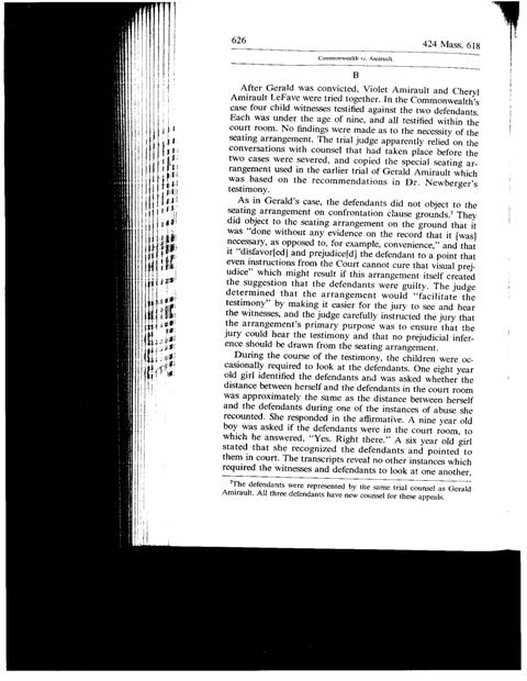 Common vs. Amirault - 424 Mass. 618 - Page626