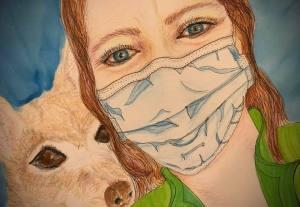 Kim Portrait for Healthcare Heroes