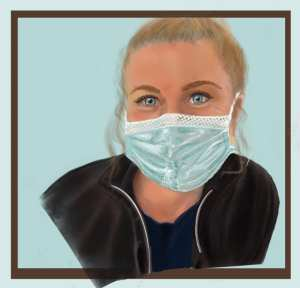 Lindsey Portrait for Healthcare Heroes