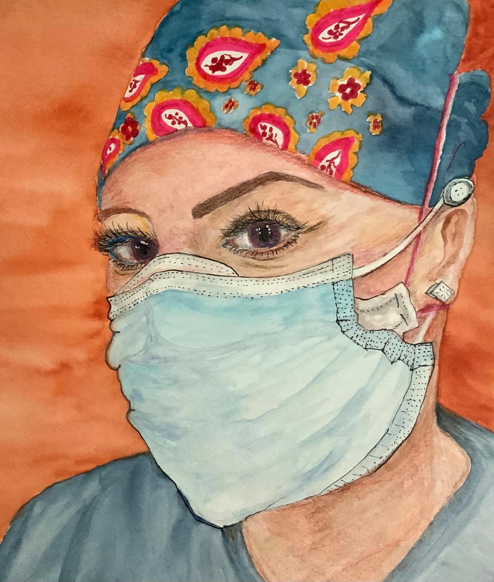 Viv Portrait for Healthcare Heroes
