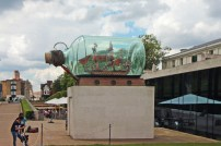 O HMS Victory, comandado pelo Almirante Nelson. Pedra no sapato de Napoleão.