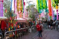 Festival Tanabata Matsuri no bairro da Liberdade, região central de São Paulo.