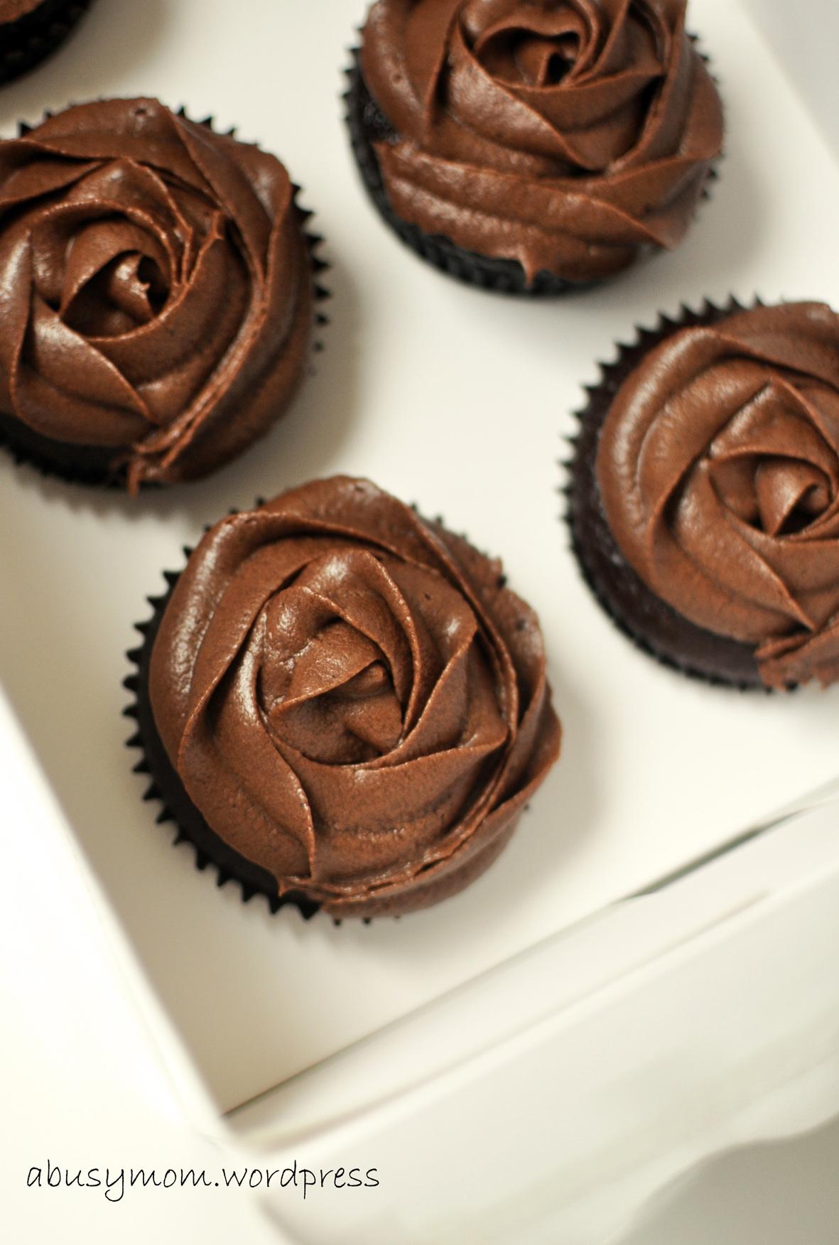 Earl Grey Dark Chocolate Cupcake Abusymoms Blog