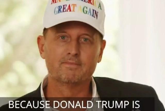 Nuestro ex embajador Richard Grenell intenta persuadir a los votantes LGBTQ para que elijan al presidente Donald Trump en las elecciones de 2020 en un video para los republicanos de Log Cabin.