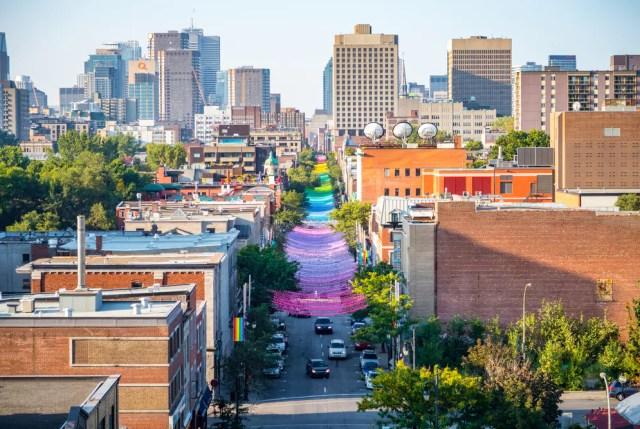 El pueblo gay de Montreal