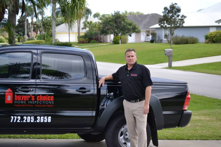 Kurt Britton Your Buyer's Choice home inspector in the Vero Beach, Florida area