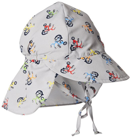 2. Baby Boys' Classics Sun-Protection Flap Hat