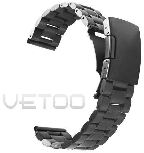 8. Vetoo Stainless Steel Watch Band