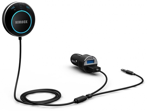 6. iClever Himbox HB01 Bluetooth 4.0 Hands-Free Car Kit