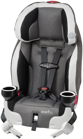 7. Evenflo Securekid DLX Booster Car Seat, Grayson