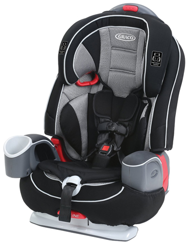 5. Graco Nautilus 65 LX Harness Booster, Matrix