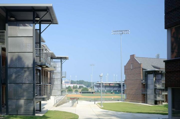University Park Student Housing Louisiana Tech University Ashe Broussard Weinzettle Architects