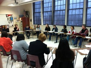 Writing workshop at ARGS' Writers Fest
