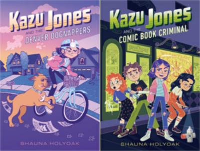 The Kazu Jones series by Shauna Holyoak