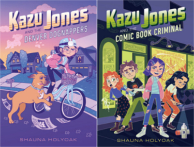 The Kazu Jones series by Shauna Holyoak