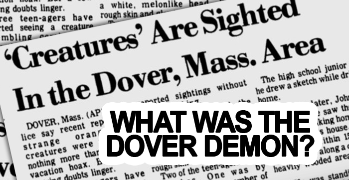 The Strange Creature Known As The Dover Demon