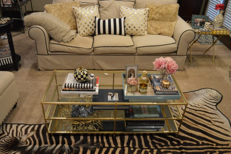 fall decor ideas | gold and black decor | fall mantle decor | how to decorate for fall