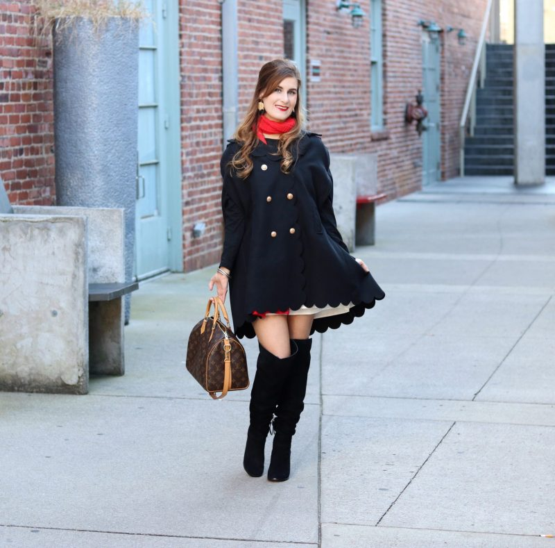 Christmas in Nashville | Christmas fashion | causal Christmas outfit | daytime Christmas outfit | preppy outfit | Christmas outfit 2017