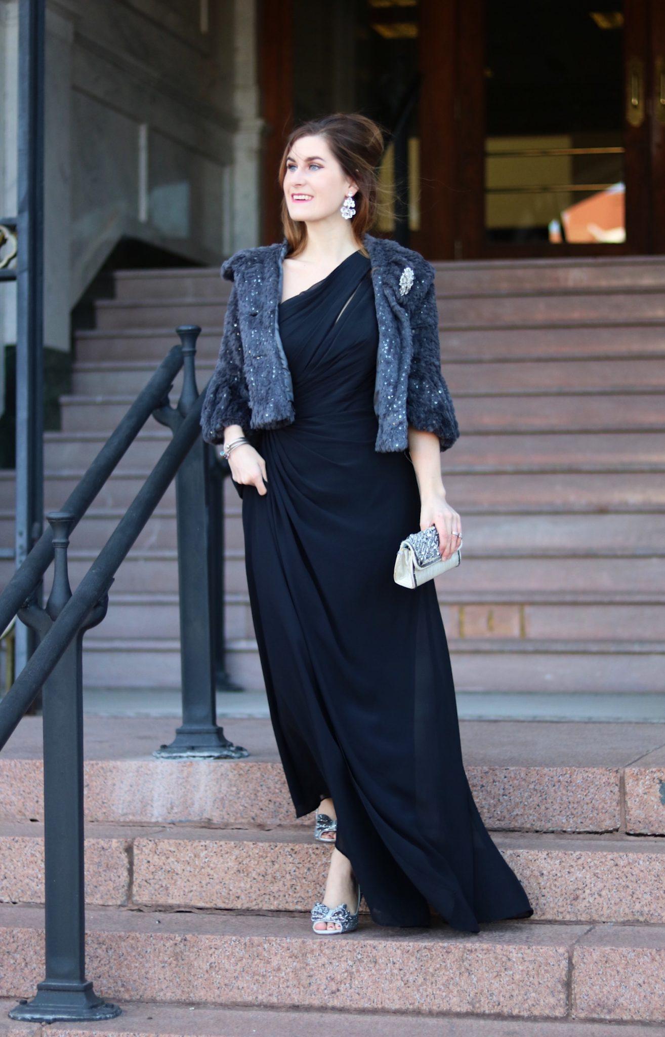 2018 Black Tie Dress