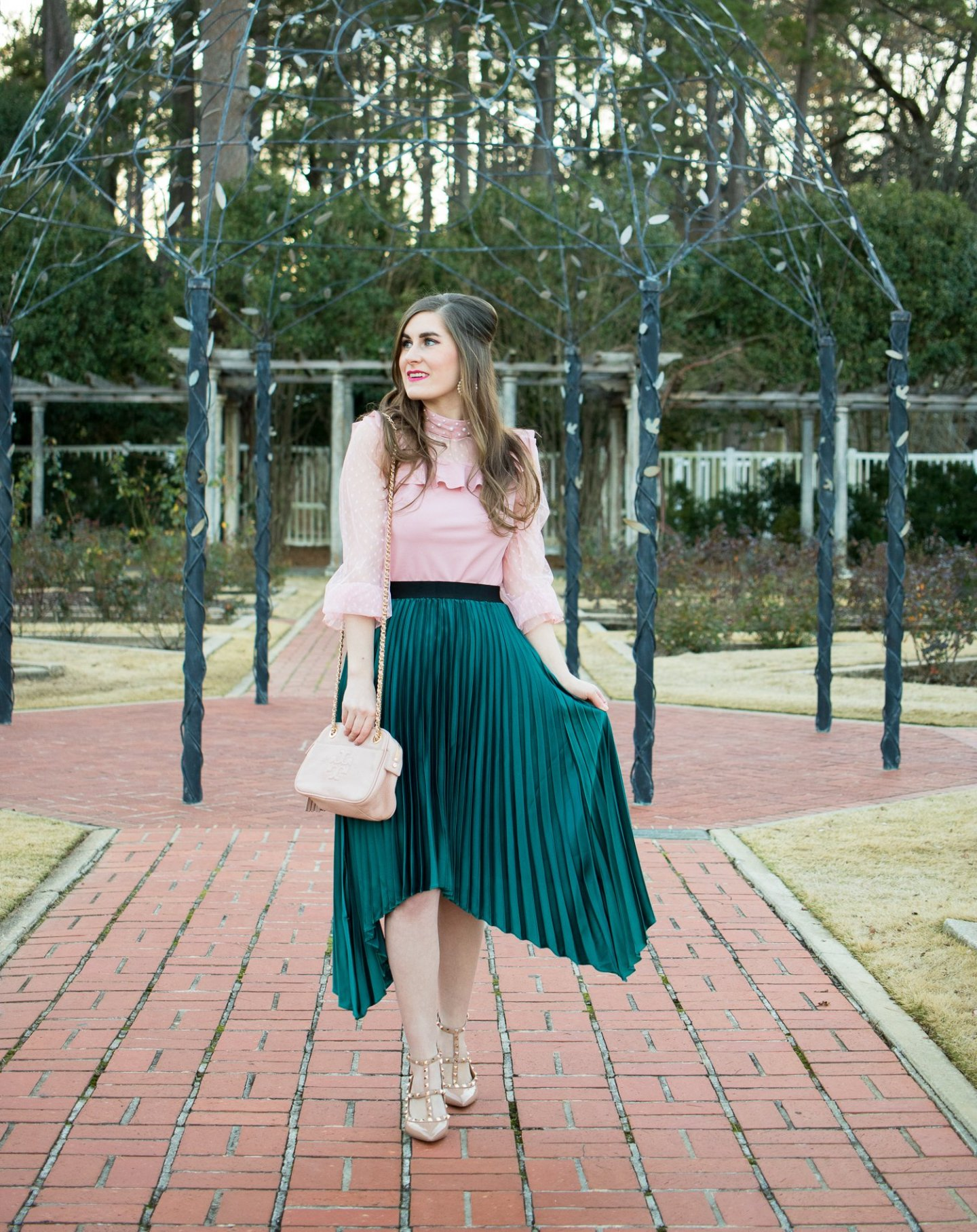Mixing Pink and Green for Spring