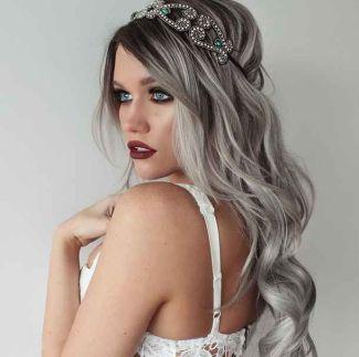 #granny hair #grey hair