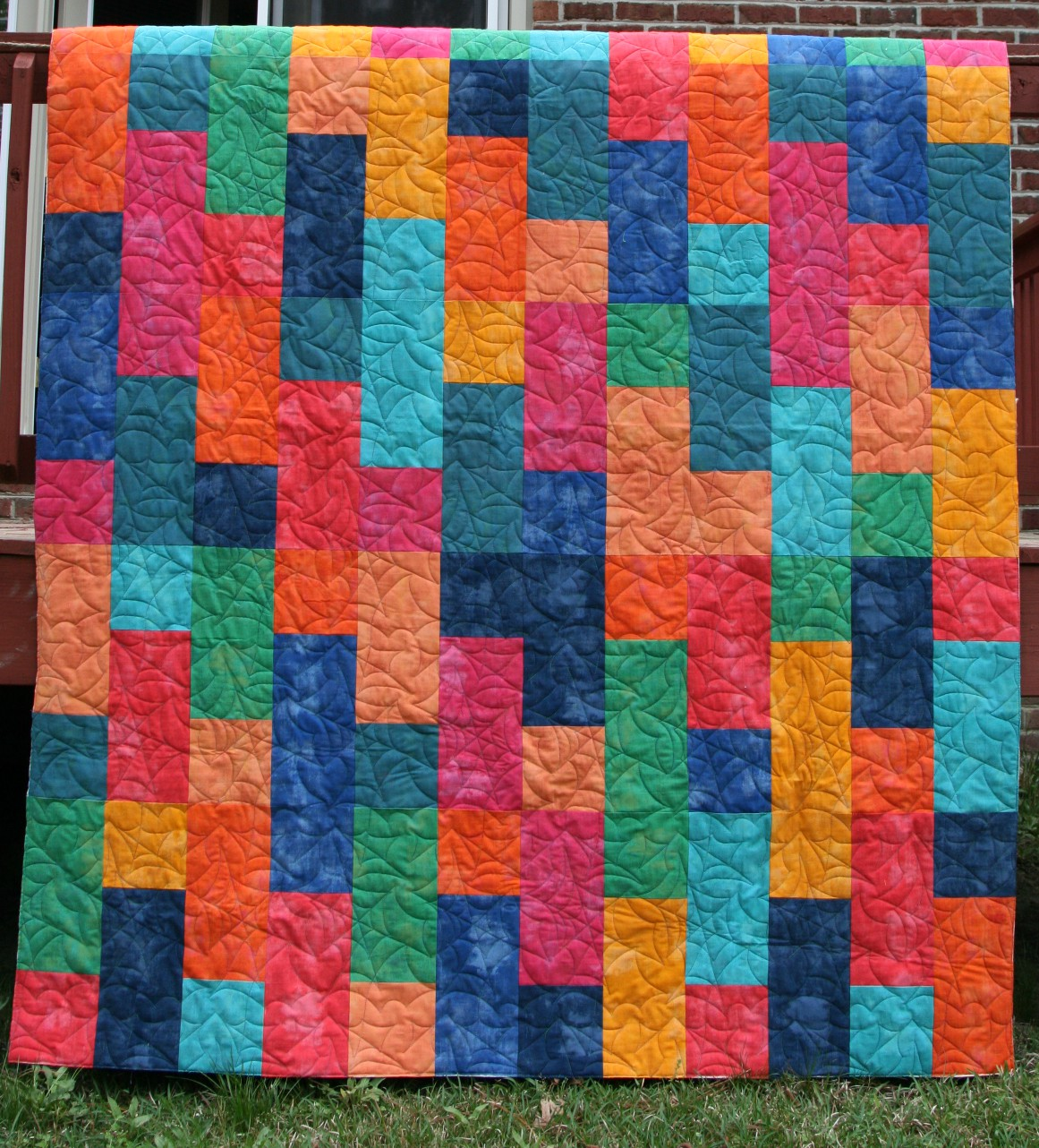 Quilts Made Of Rectangles And Squares