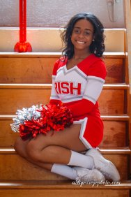 Senior Varsity Cheerleader Central HS