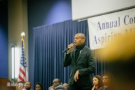 Kevin Powell Speaking at The University of Toledo Aspiring Youth Conference