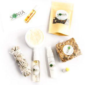 Sonia Organics Product Photography