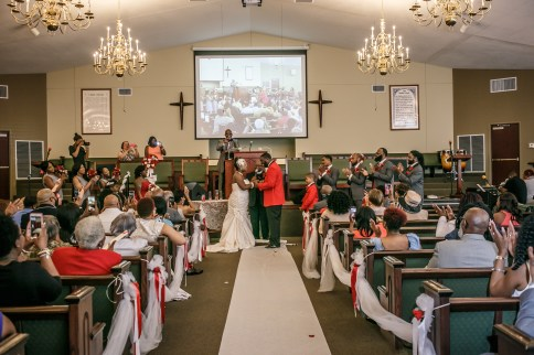 Jerusalem Baptist Church Wedding Toledo, Ohio