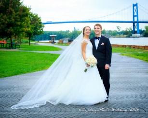Toledo Bridge Wedding