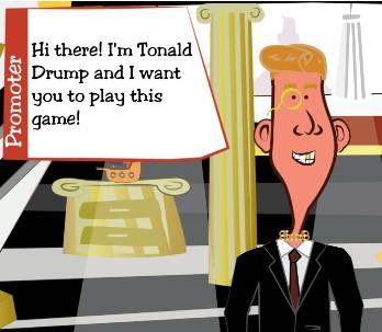 President Tonald Drump