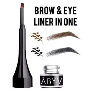 ABYV waterproof brow and eye liner