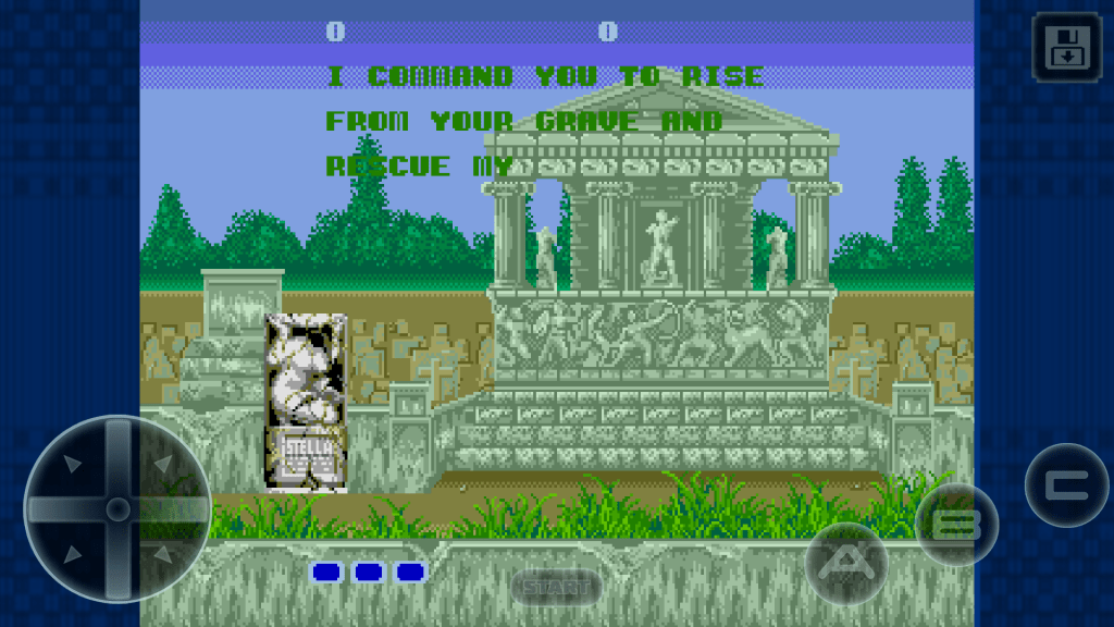 Altered Beast start level 1
