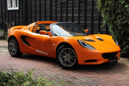 NEW CAR LOTUS ELISE S Chrome Orange