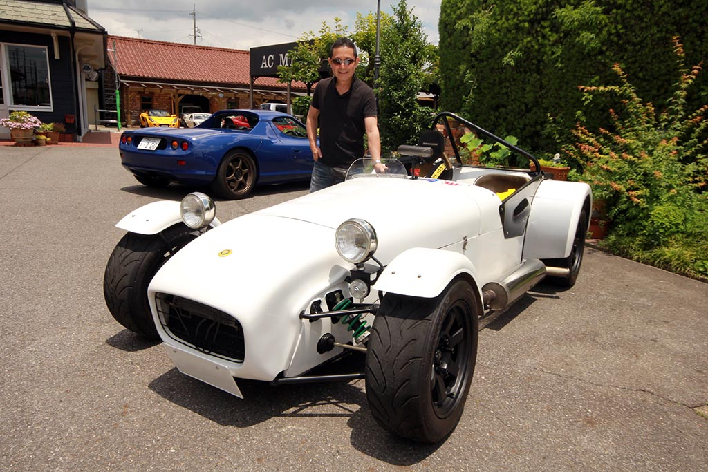 祝納車! CATERHAM 1.8K-RACING