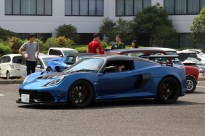 EXIGE CUP 380のTさんの奥様もノリノリです。Photo:S.O.